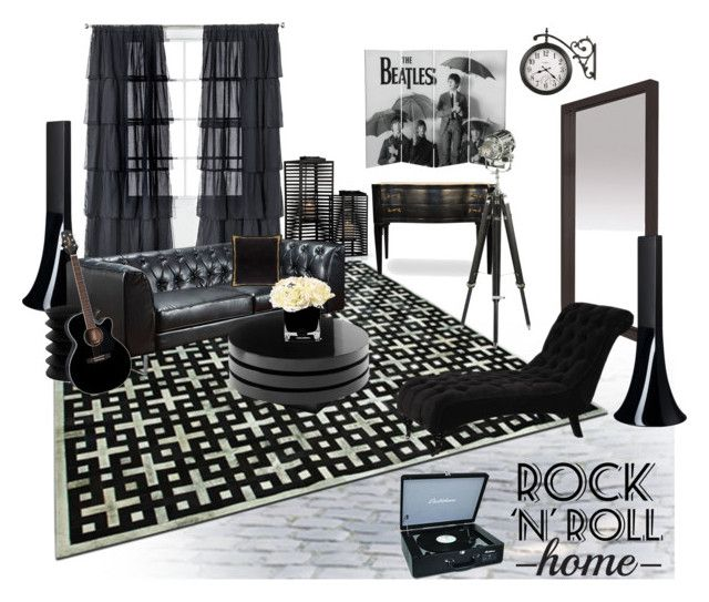 Rock 39 n 39 roll home by anna survillo liked on polyvore Xhilaration home decor