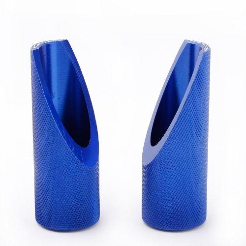 Blue Hose /& Stainless Gold Banjos Pro Braking PBK7806-BLU-GOL Front//Rear Braided Brake Line