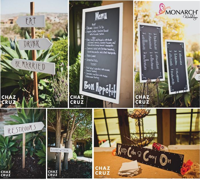 30 Unique And Breathtaking Wedding Backdrop Ideas: Using DIY Signs And Chalkboard For Your Wedding. Wedding
