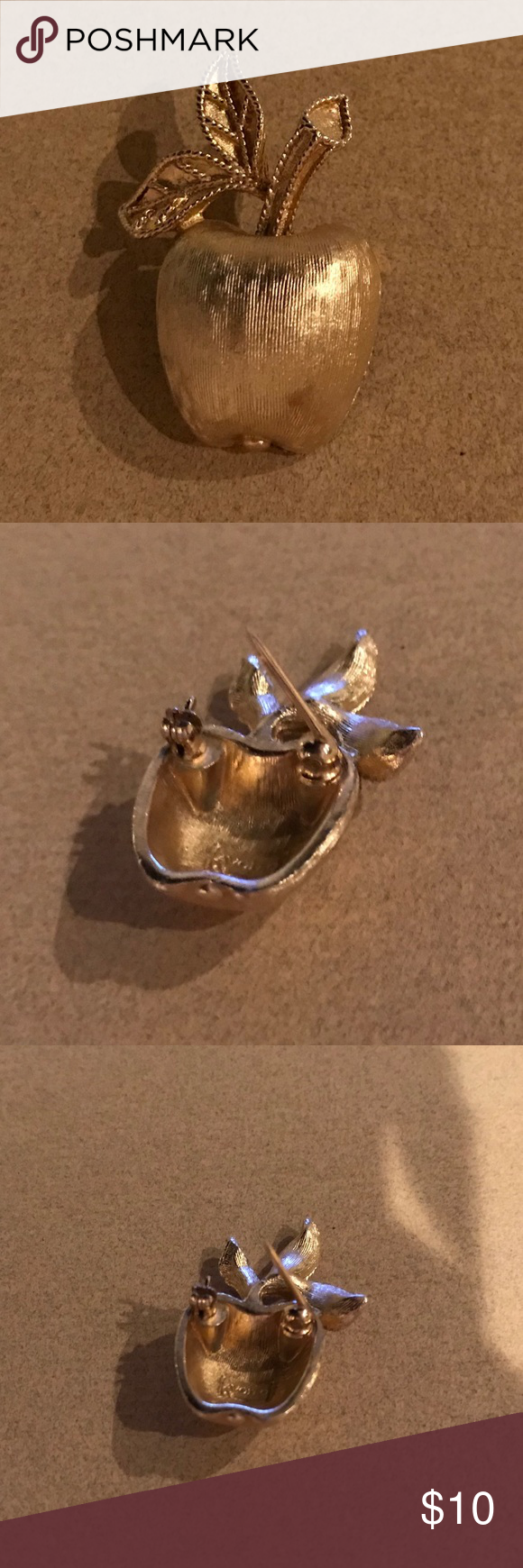 Vintage Apple Pin By Avon Avon Jewelry Vintage Apple Vintage