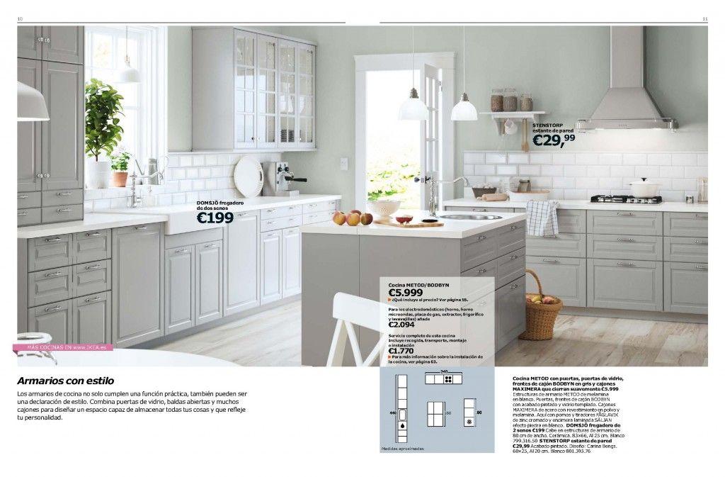 Asombroso Ikea Estilos De Puertas De Cocina 2014 Imagen - Ideas de ...