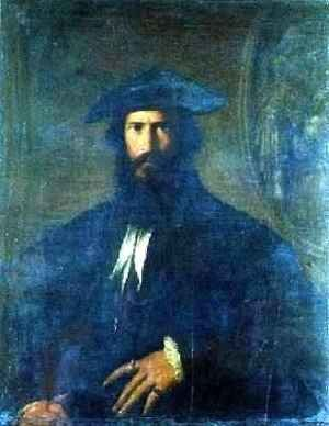 Famous paintings of Portraits: Portrait of a Man 2