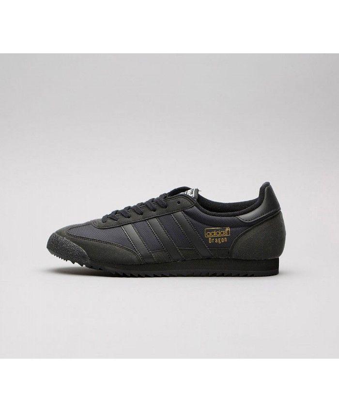adidas dragon all black