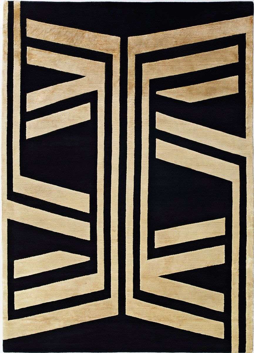 Black Gold 2 Tibetan Rug From The Tibetan Rugs 1 Collection At