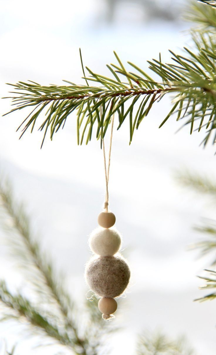 How to Make Felt Ornaments