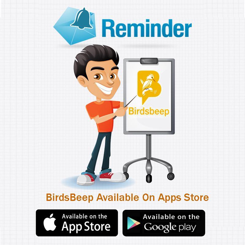 Reminder BirdsBeep Available On Apps Store Google