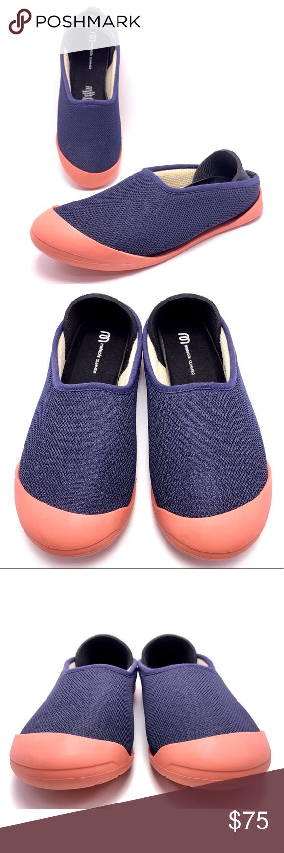847889804d2 Mahabis Summer EU 39 US 8 Navy Blue Slippers Shoes Mahabis Summer Womens EU  39 US