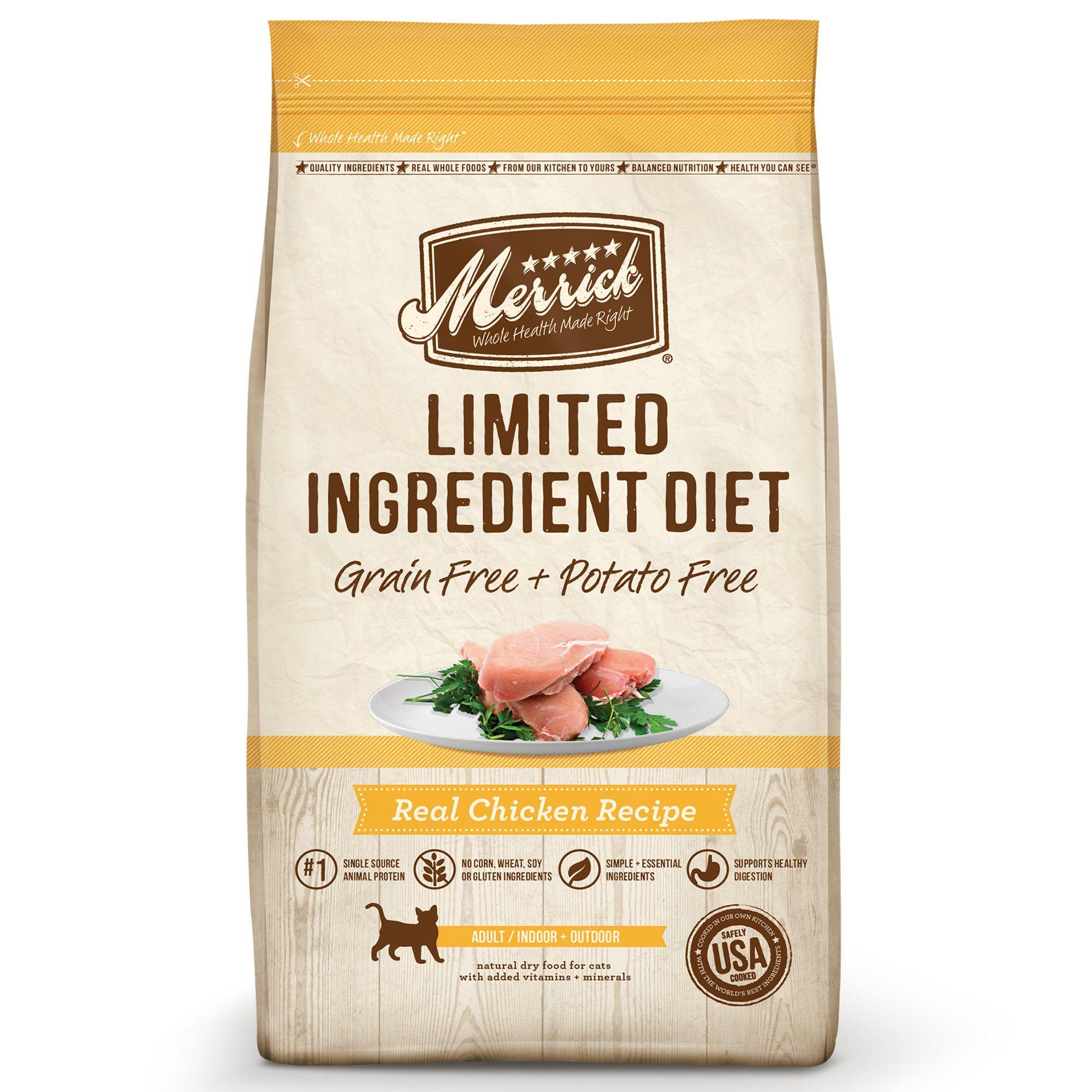 Merrick Grain Free Limited Ingredient Diet Chicken Recipe Cat Dry