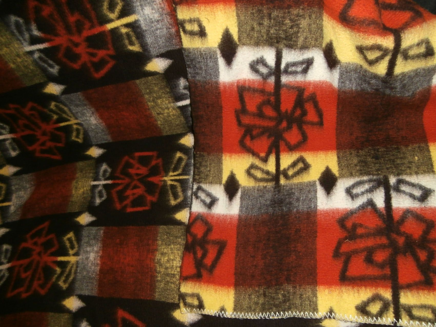 Vintage blankets from our collection September 2016 - retro dekens - Wolldecken