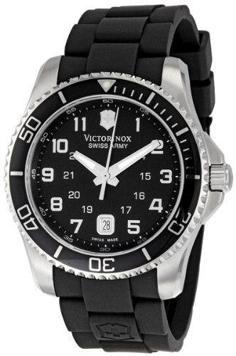 Victorinox Swiss Army Men's 241435 Maverick G Black Dial Watch - http://www.specialdaysgift.com/victorinox-swiss-army-mens-241435-maverick-g-black-dial-watch/