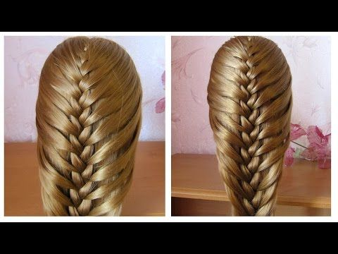 Tuto coiffure simple queue de cheval originale ♡ Tresse