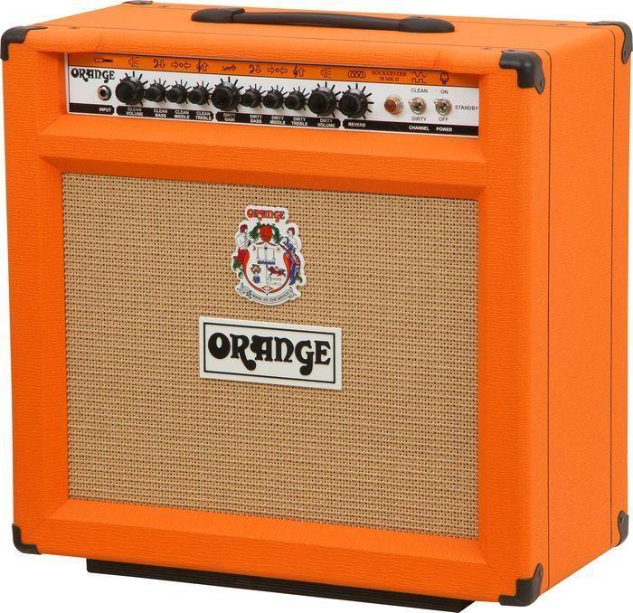 Orange Rk50tc112mkii Rockerverb 50 Mkii 50 Watt 1x12 Combo Amplifier Amp Orange Guitar Amps For Sale Amp Orange Amplifiers