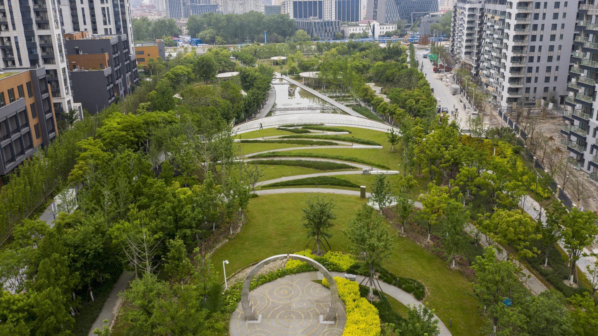 Baoshan Spig Park Swabalsley David Lloyd 0518 In 2020 Harbor City Park City Park