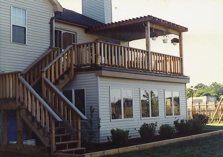 sunroom with deck on top google search house pinterest