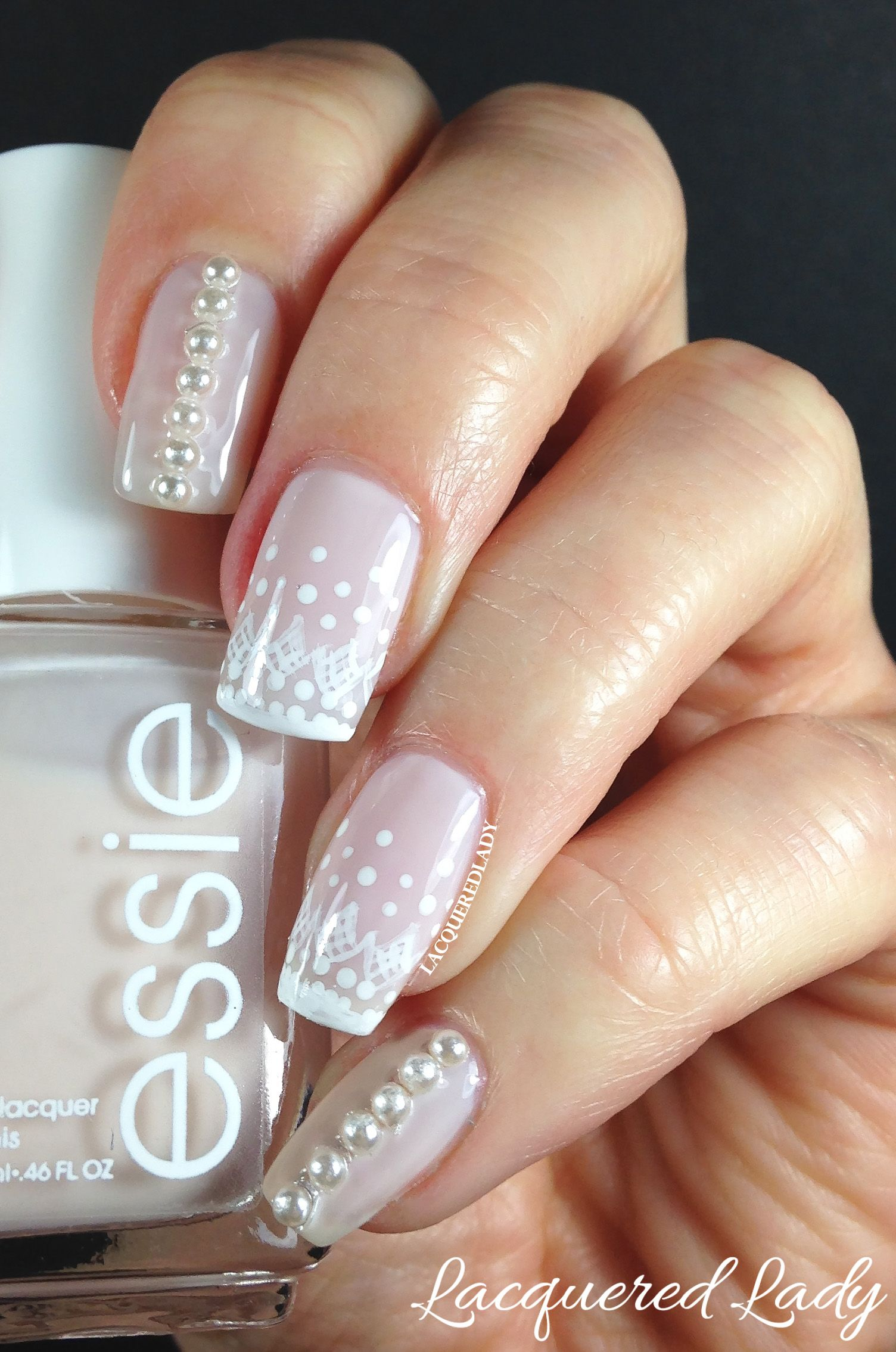 Classic Nail Designs With Pearls with Photo of Pearl Nail Remodeling ...