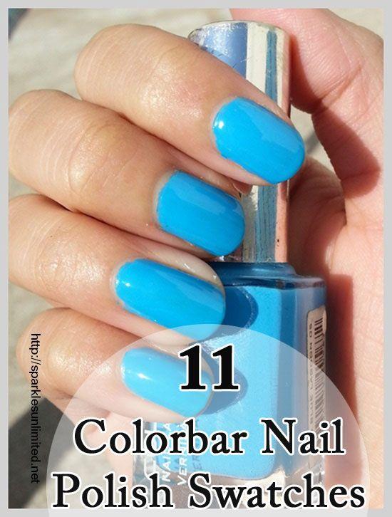 Best Colorbar Nail Polish Swatches Nail Polish Nails Polish