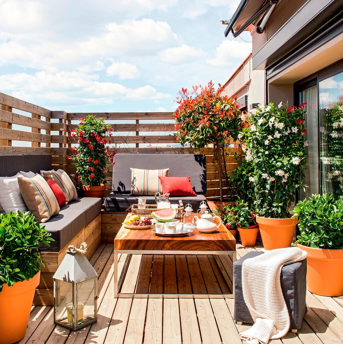 10 ideas para decorar terrazas y balcones balcones