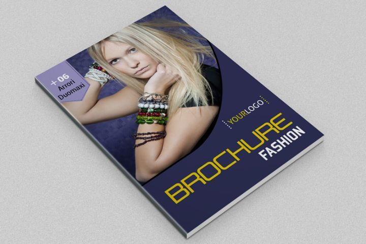 PrintReadyFashionBrochureTemplate   Fashion Brochure