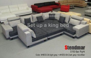 Awesome Big Couch That You Can Turn Into King Bed The Big Comfy