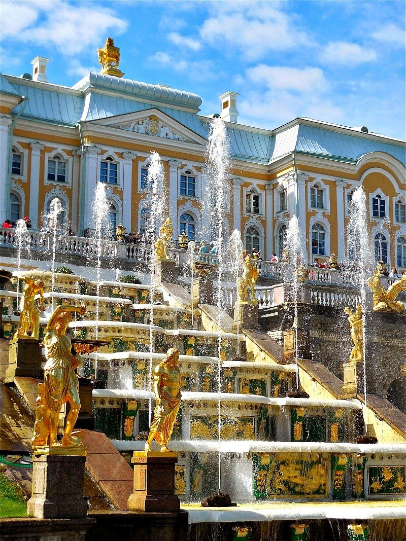 A Breath of Fresh Air: Peterhof Palace, St. Petersburg………………