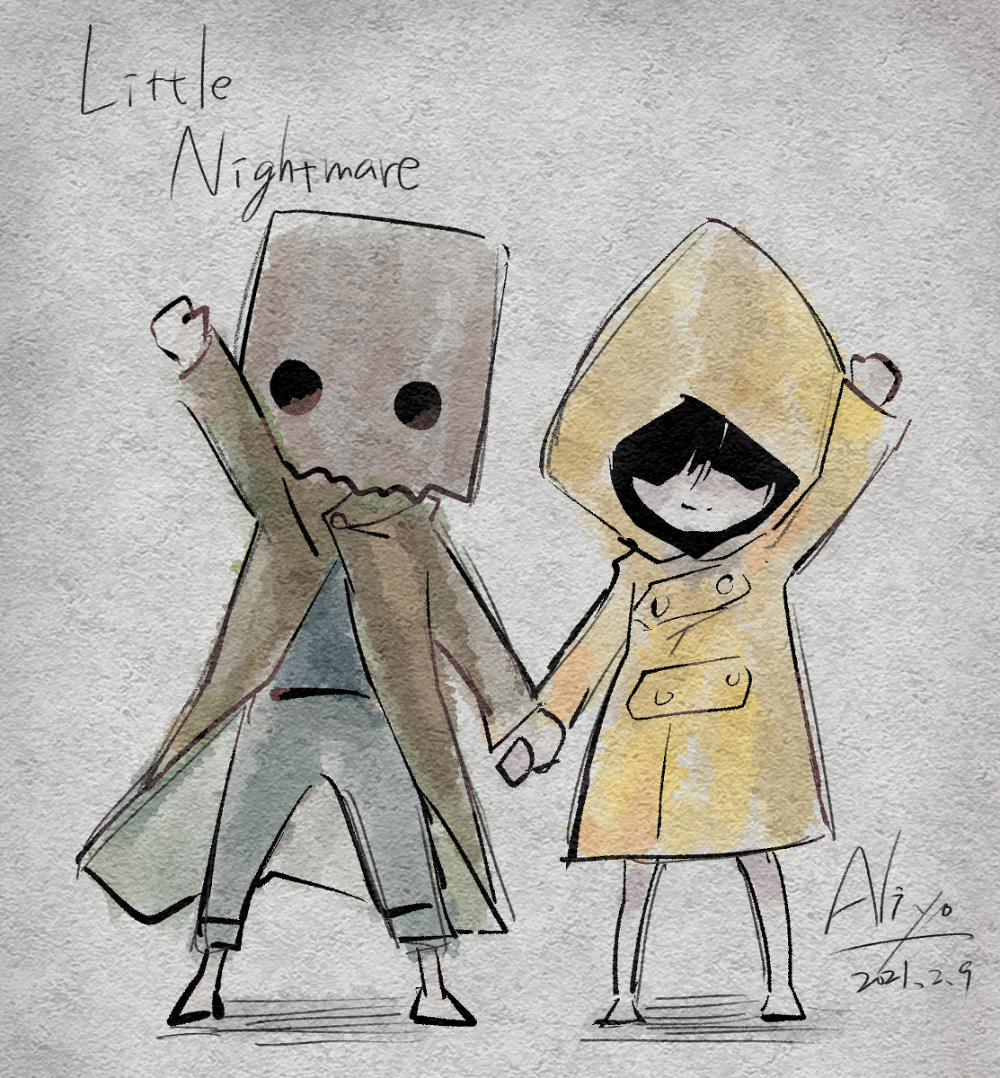 #littleNightmares little Nightmares – 艾莉柚Aliyoのイラスト – pixiv