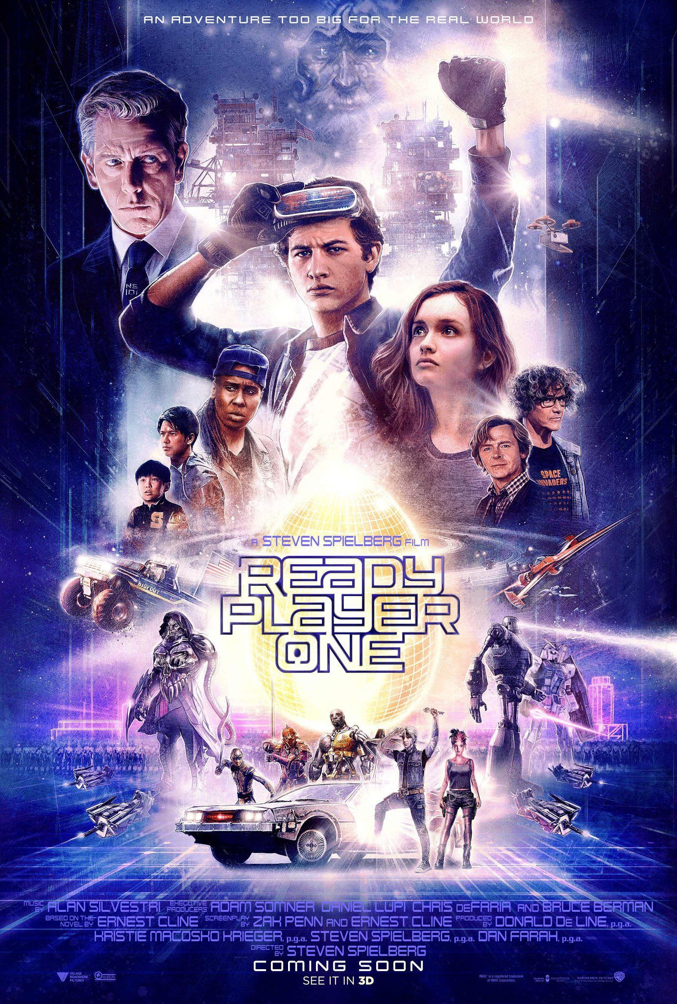 Ready Player One 2018 Dir By Steven Spielberg When The Creator Of A Virtual Reality World Ca Ready Player One Movie Ready Player One Full Movies Online Free