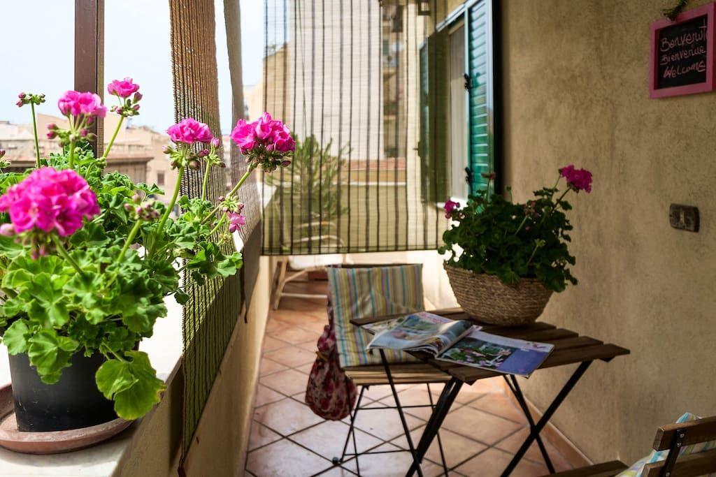Entire home/apt in Palermo, IT. Delizioso Attico con Terrazza ...