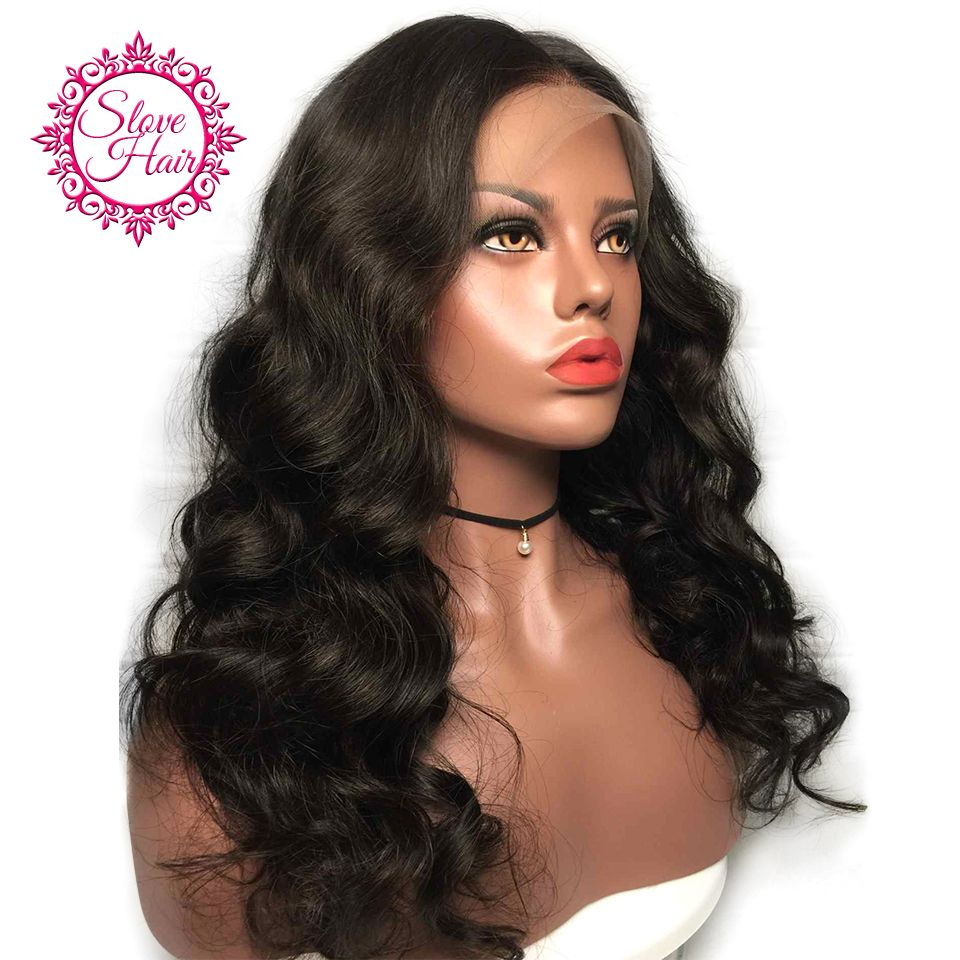 360 Lace Frontal Wig Remy Brazilian Body Wave Human Hair Wigs For Women  Front Plucked With 0039c926f