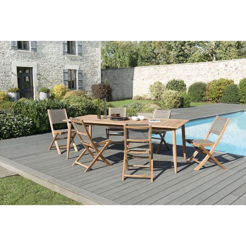 Salon de jardin | Outdoor furniture sets, Dining set ...