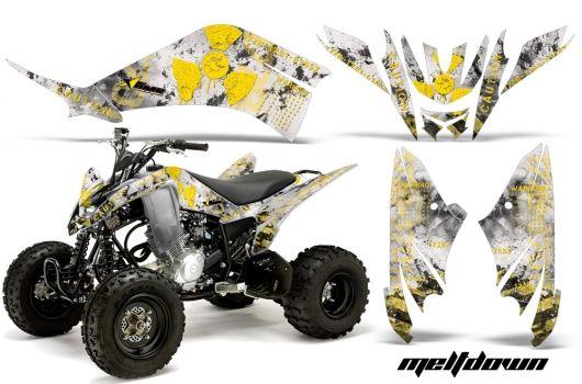 Yamaha Raptor 125 Quad Graphic sticker decal Kit for   ATV