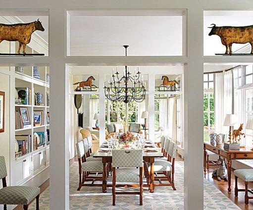 Country elegance n window heaven!  via theenchantedhome
