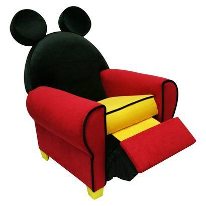 Attrayant Disney Mickey (Minnie) Recliner. Laynee Would Want This In Pink And With A