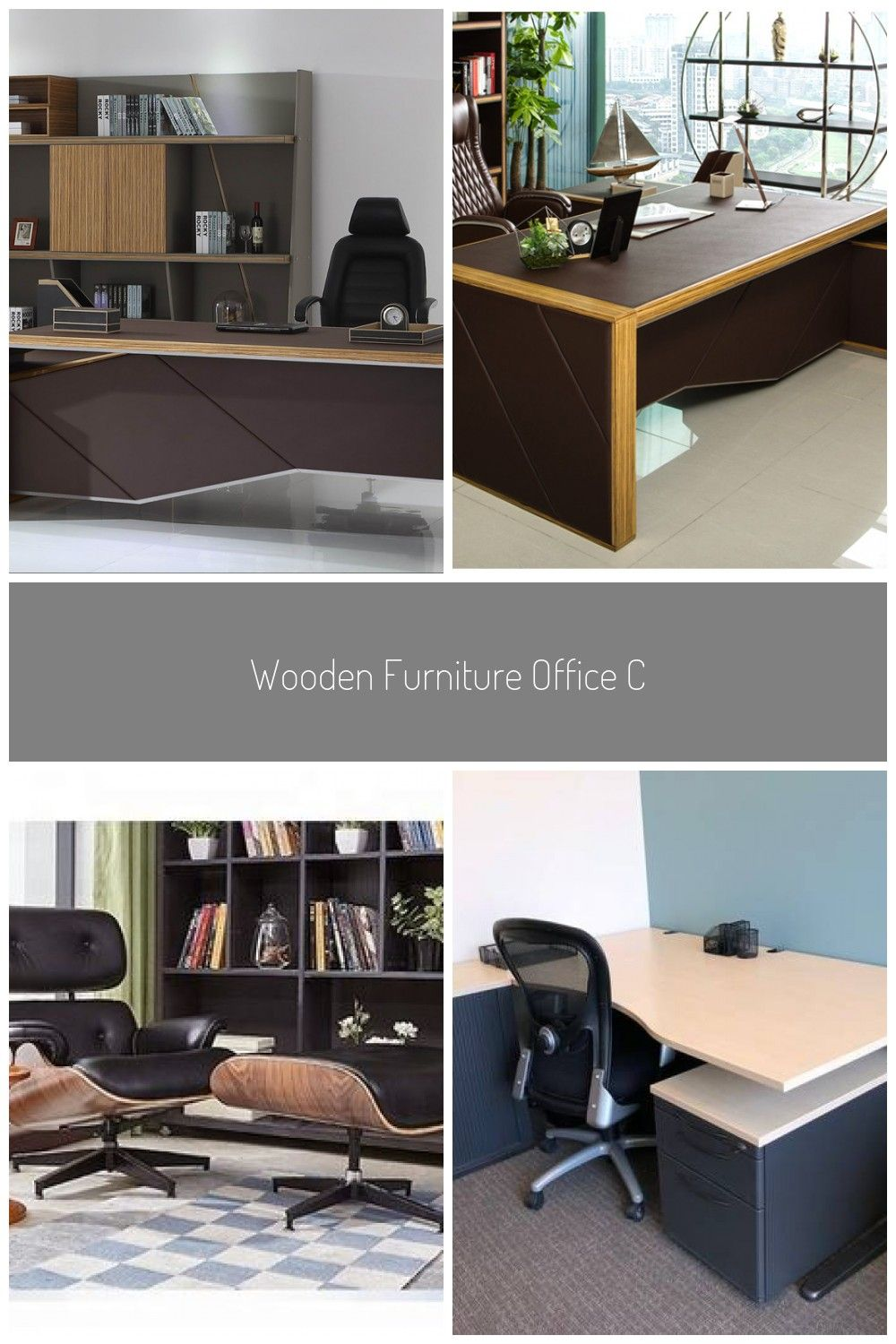 Wooden Furniture Office Ceo Table Designs Executive Office Desk