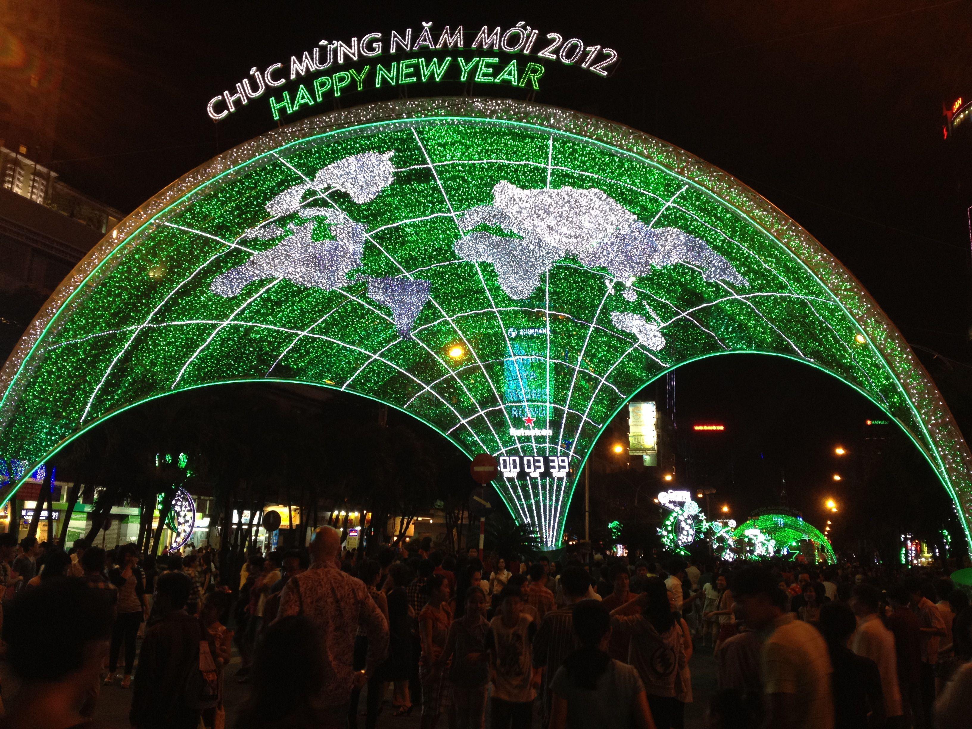 New Years EveHo Chi Min City Holiday destinations, City