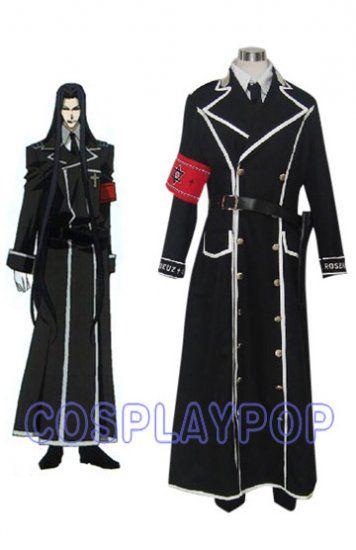 Isaak Fernand von Kampfer in Trinity Blood Cosplay Costume