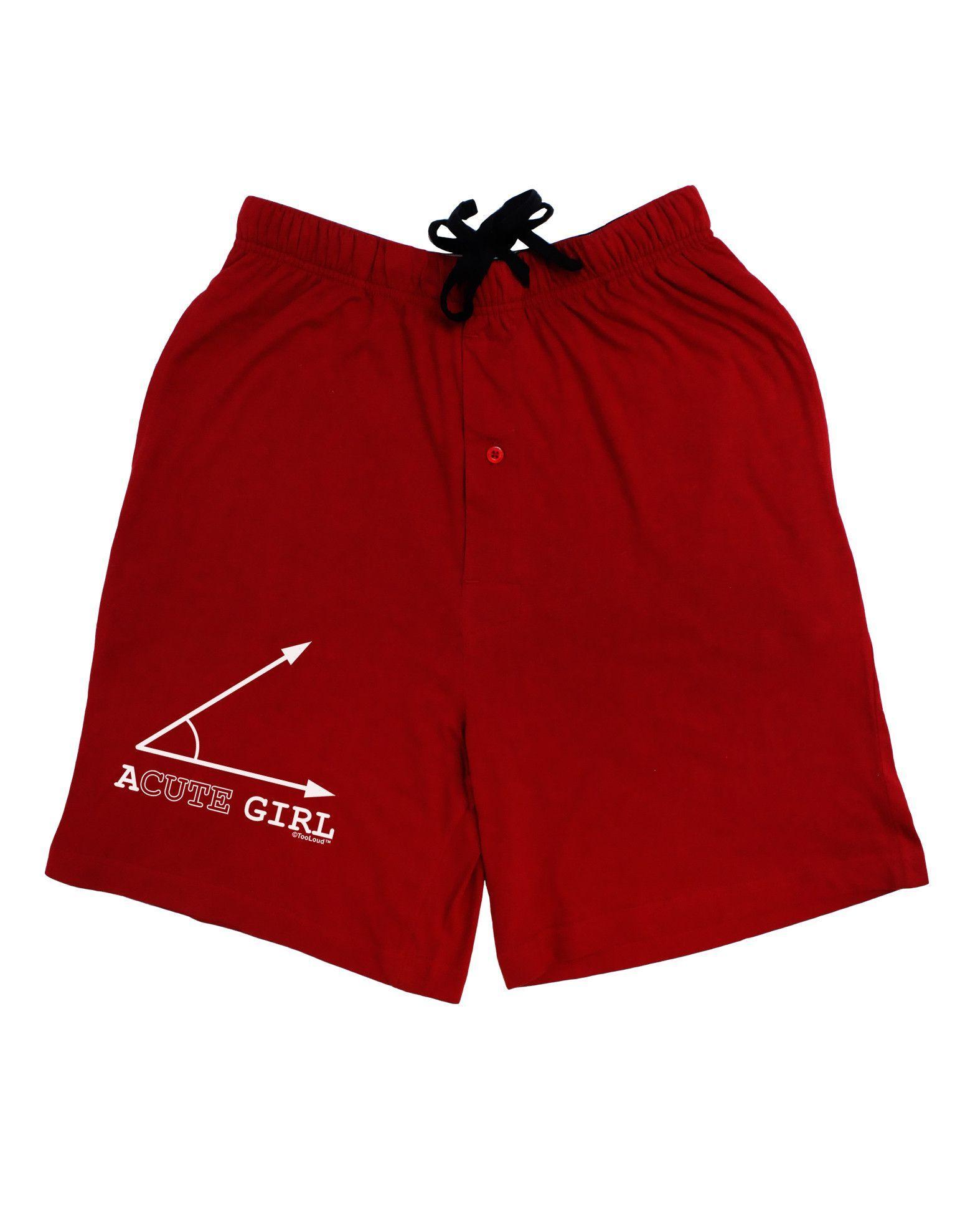 TooLoud Acute Girl Adult Lounge Shorts