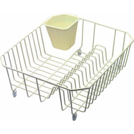 rubbermaid wire sink dish drainer