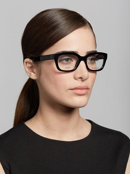 d6454d6ffb1 Celine Black Frame Glasses