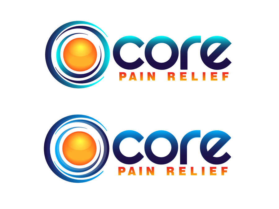 logo for Core Pain Relief by rebecca777
