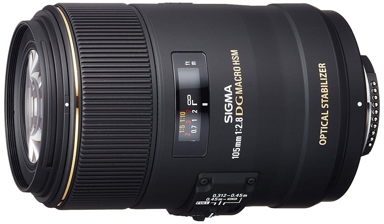 Sigma 105 Mm F2 8 Ex Makro Dg Os Hsm Objektiv Fur Amazon De Elektronik Makro Objektiv Sigma Objektive Objektiv