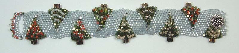 Holiday Tree Bracelet | Funky Hannah's