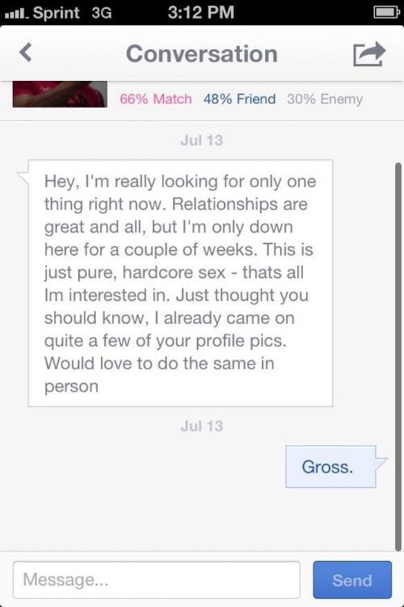 Is it rude not to reply online dating