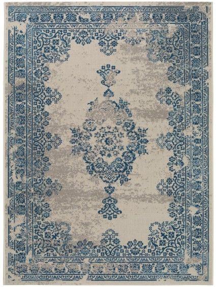 Teppich Antique Beige Blau Orientalische Bars Restaurants Rugs
