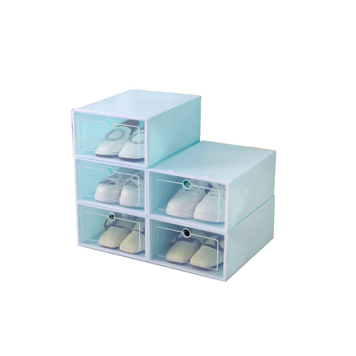 خزانة الأحذية المصنوعة من القماش ومواسير الحديد خزائن قماش للأحذية دولاب وخزانة أحذية متنقلة من Shoe Rack Home