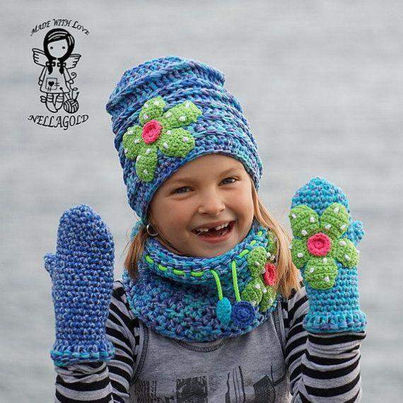 Crochet PATTERN, Crochet Hat, Crochet Beanie Hat, Crochet Hat ...