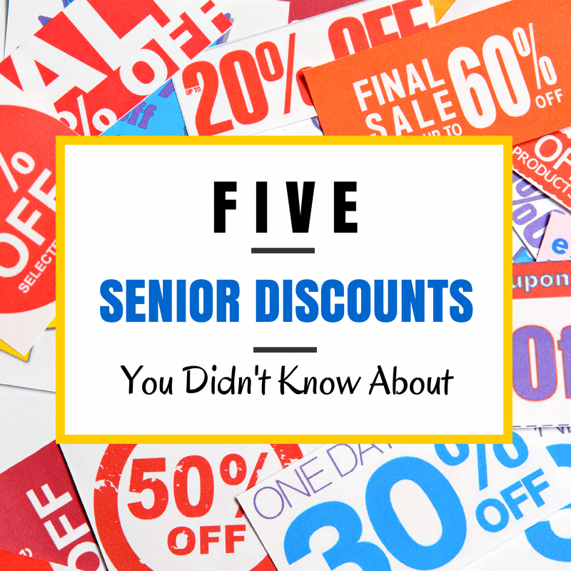 Top 5 Senior Discounts You Didn T Know About Seniordiscounts