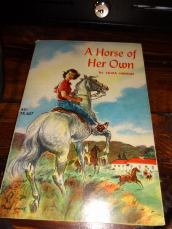 A Horse Of Her Own By Selma Hudnut 1963 Scholastic Books