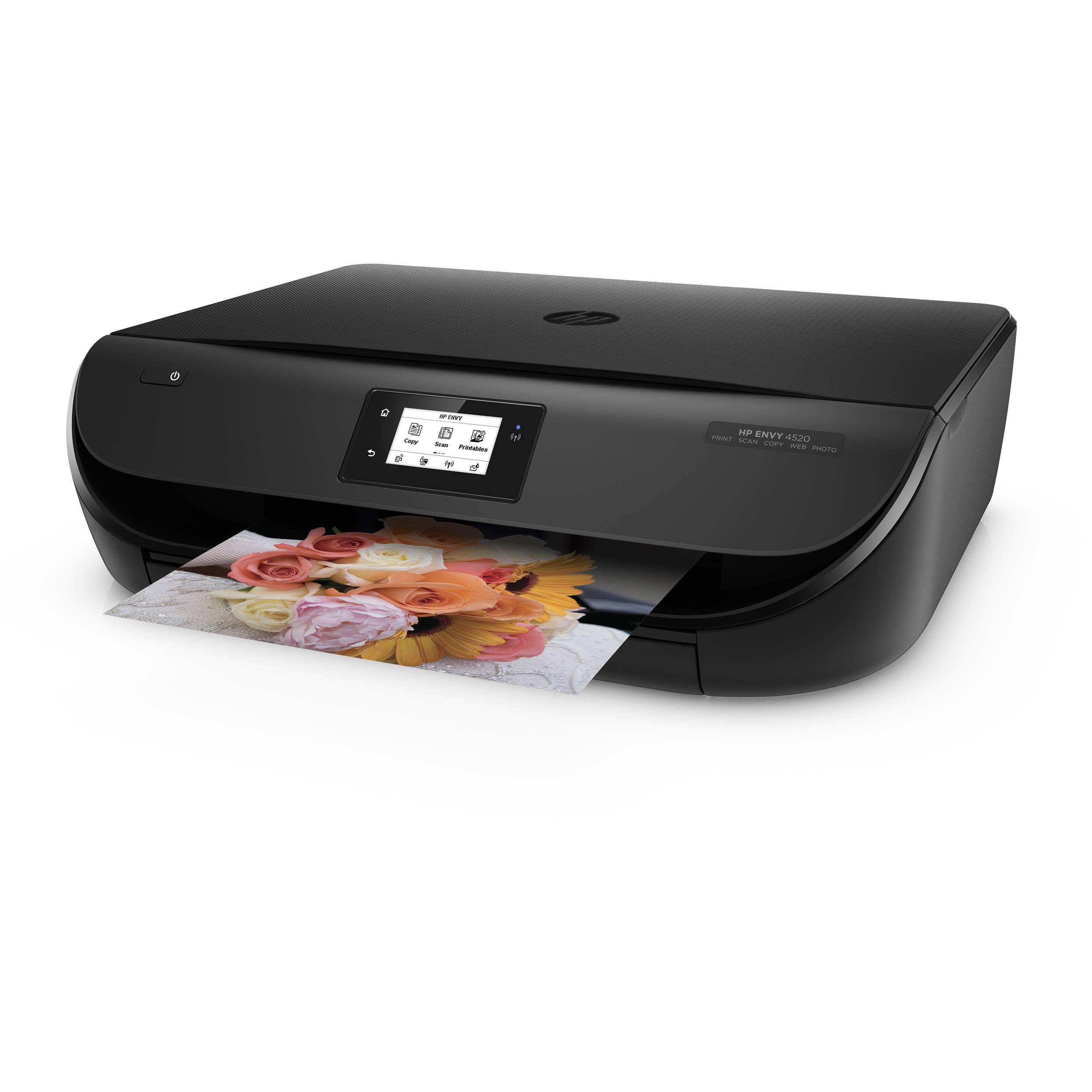 123 Hp Com Envy4520 Setup Photo Printer Printer Mobile Print