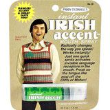 Instant Irish Accent Mouth Spray