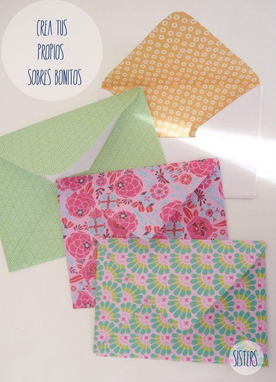 sisters como hacer sobres bonitos para tus postales navideas